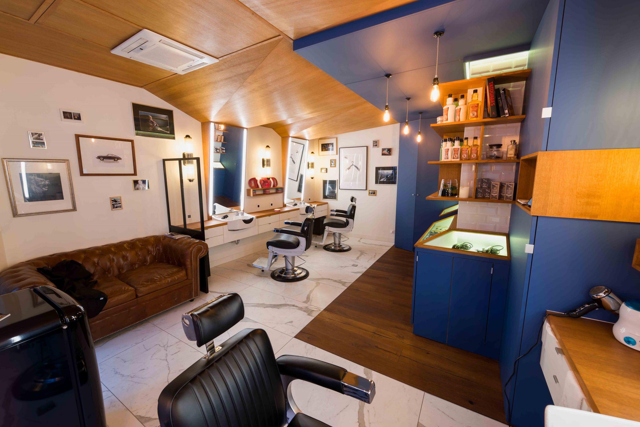 Barbier salon de coiffure Bordeaux La Crèmerie boutique