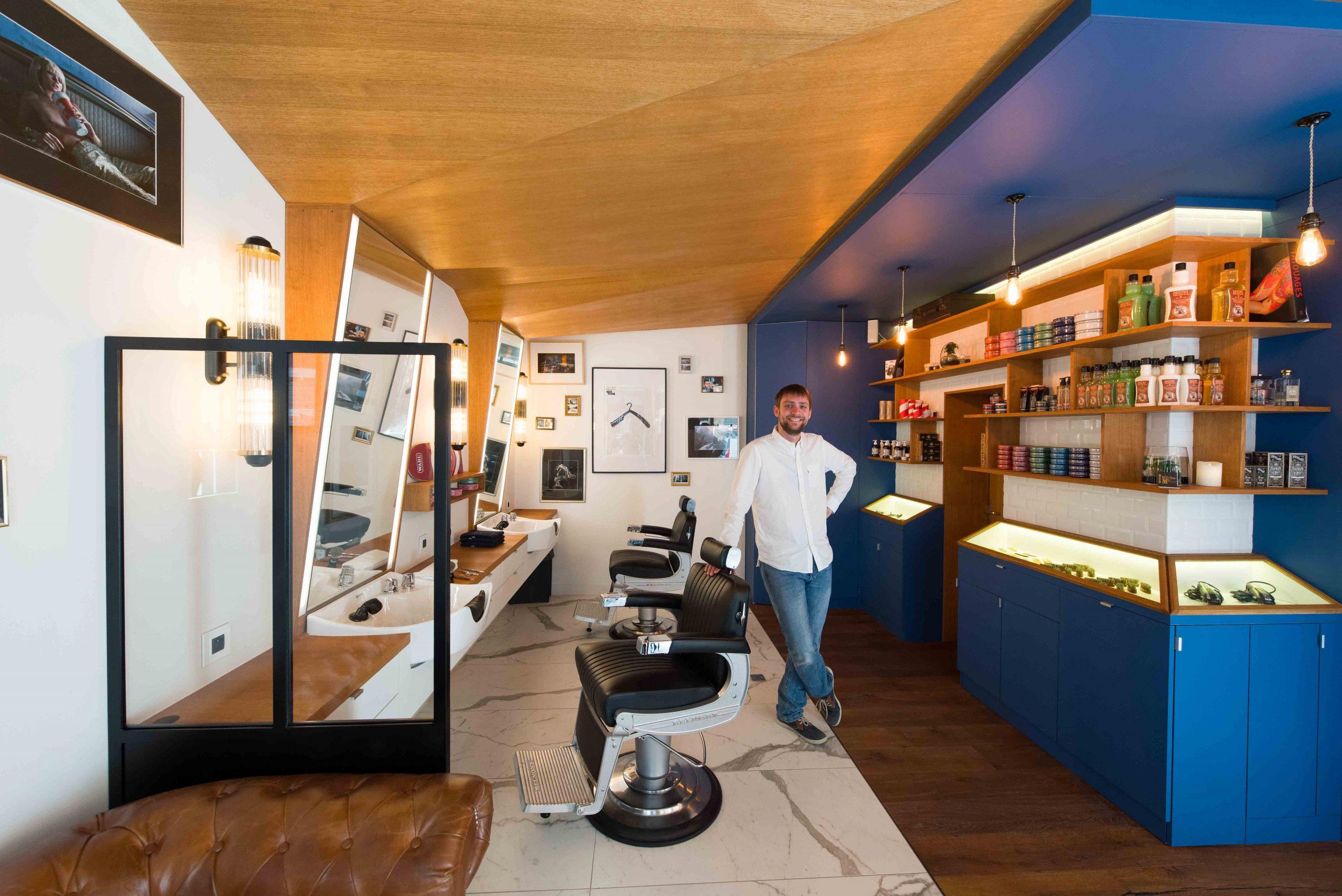 Barbier salon de coiffure Bordeaux La Crèmerie Antoine