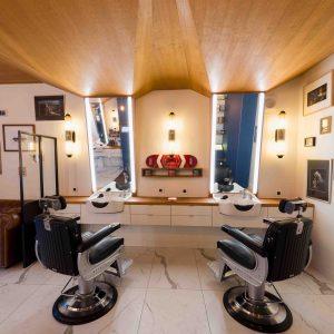 Barbier salon de coiffure