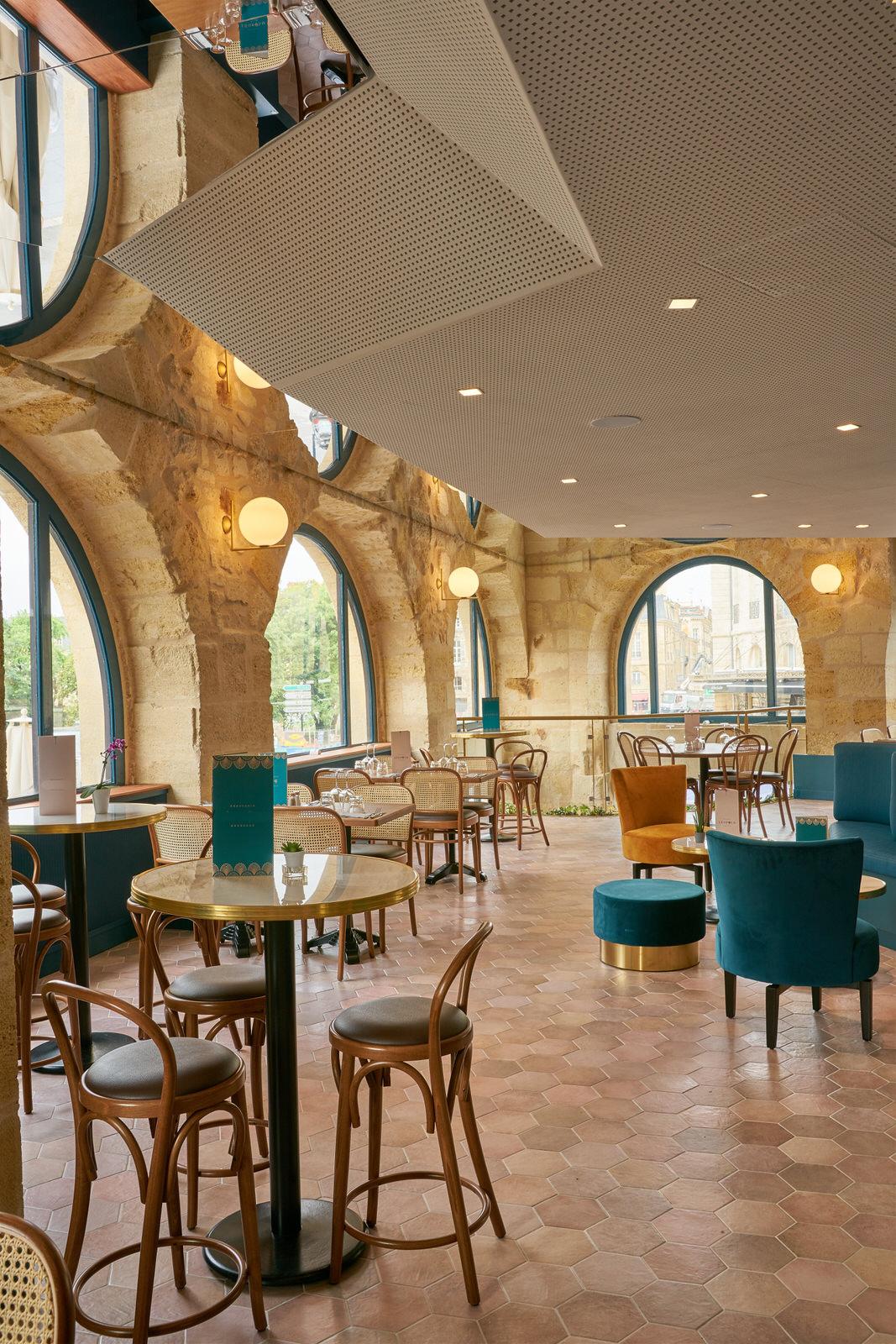 Brasserie Bordeaux Ameublement La Crèmerie salle