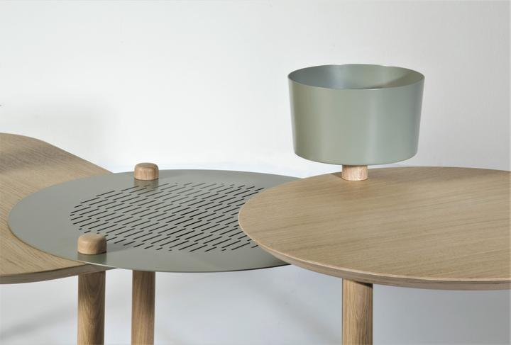 Table - table basse. Fabrication française.