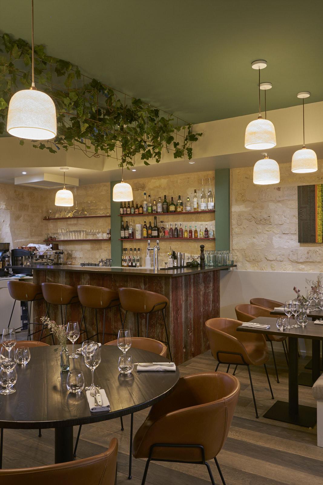 Restaurant gastronomique Bordeaux bar