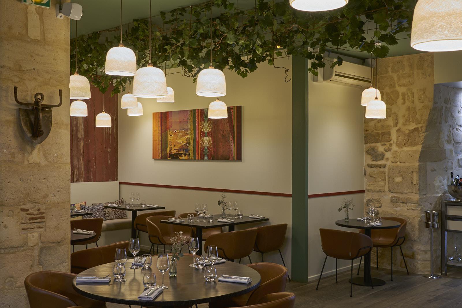Restaurant gastronomique Bordeaux salle