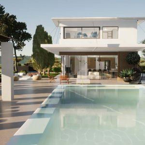 Conception d'une villa d'exception